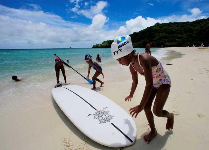 Palaos, lugar paradisíaco del Pacífico. | Foto: AP